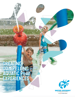 Water Odyssey Aquatic Playgrounds Catalog