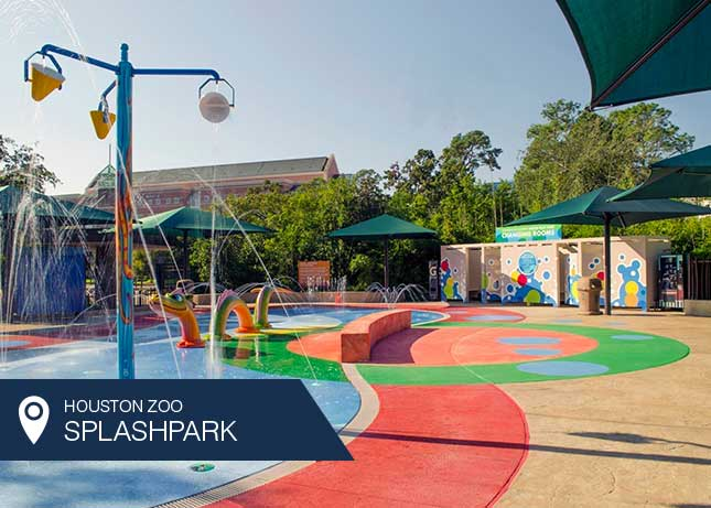 Houston Zoo Water Play Park Splash Pad by Kraftsman