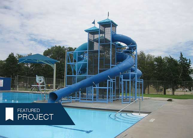 Commercial water slides commercial water parks kraftsman - Commercial swimming pool water slides ...