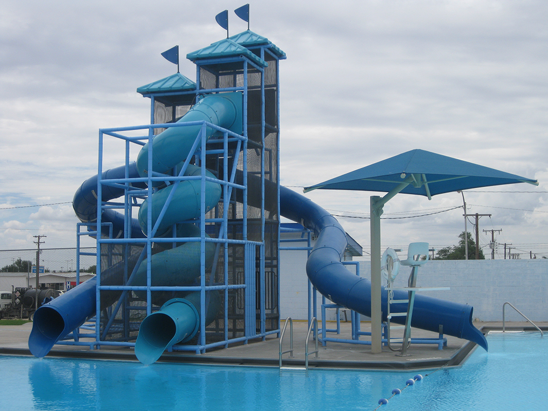 Andrews, TX Public Pool Revitalized with New Commercial Waterslide
