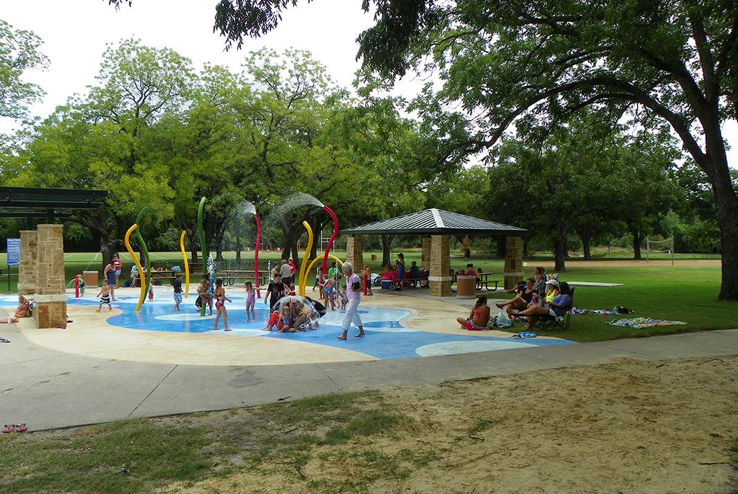 Parr Park Sprayground Grapevine Tx Kraftsman