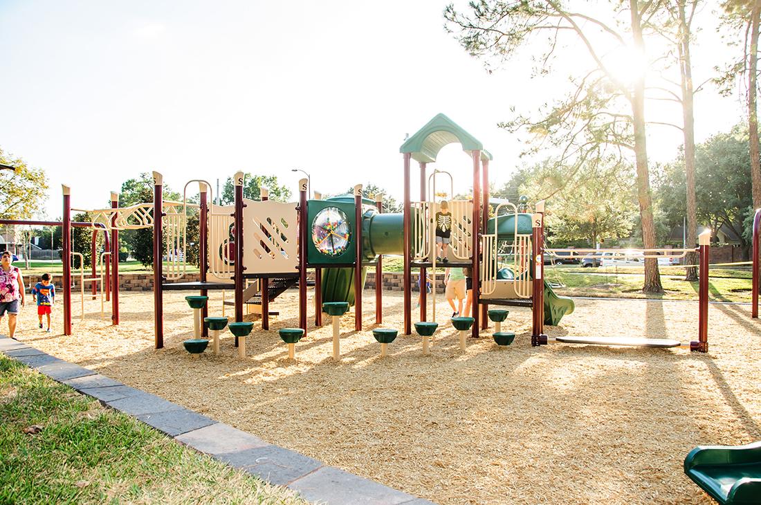 Park Design Green Trails Playground Cypress Tx Kraftsman